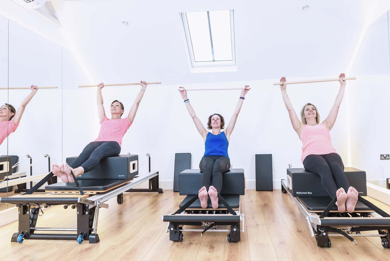 shona atkin pilates INTERMEDIATE REFORMER